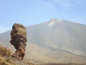 Pico de el Teide y Roque Cinchado